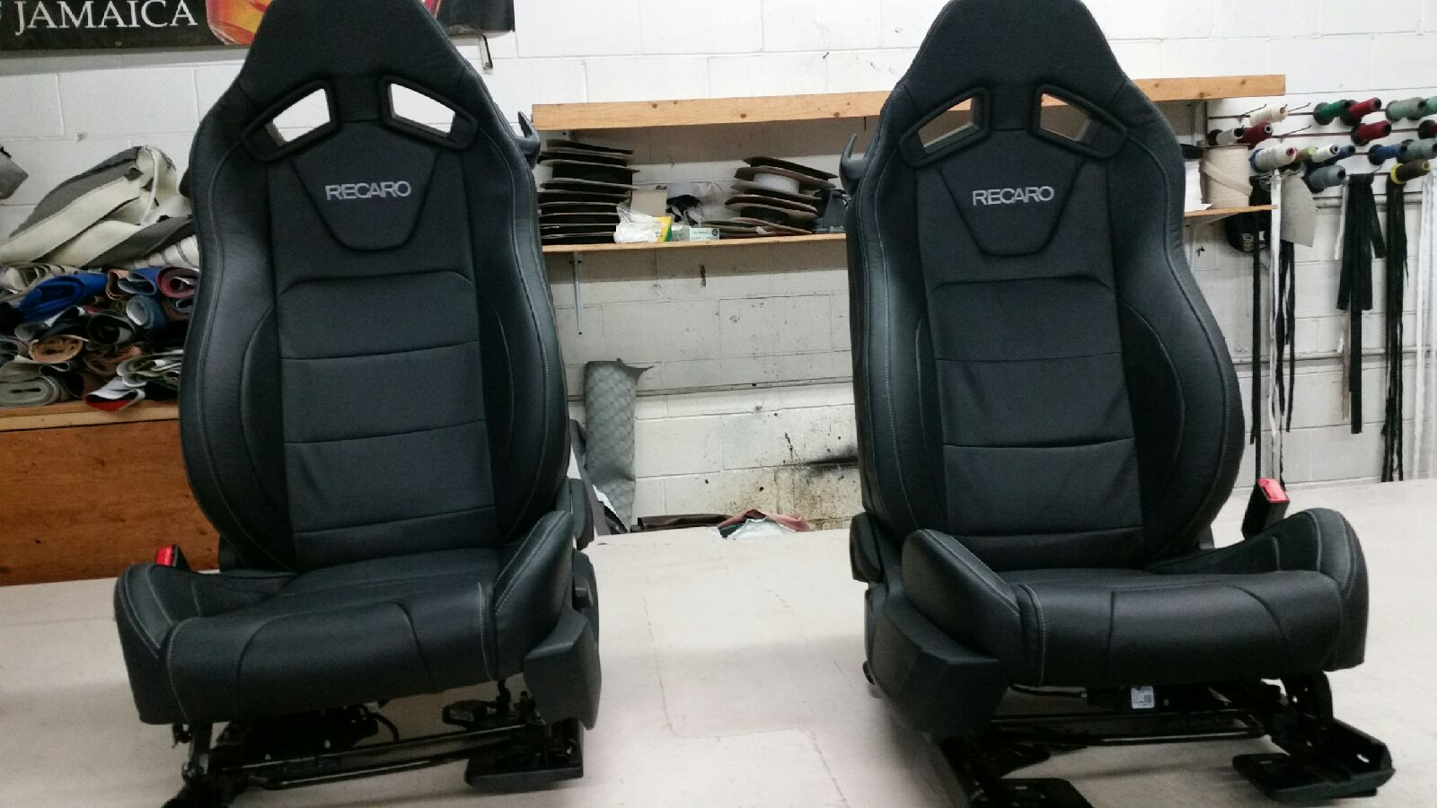 black car seats